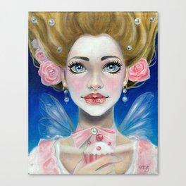 Let them eat cupcakes! Marie Antoinette Canvas Print