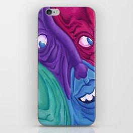 Imagination worshippers iPhone Skin