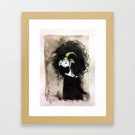 Aires Girl Framed Art Print