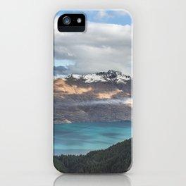 Island clouds iPhone Case