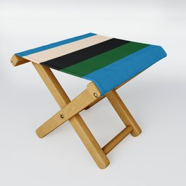 Color Stripe _003 Folding Stool