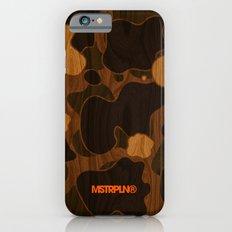 Modern Woodgrain Camouflage / Duck Print iPhone 6s Slim Case