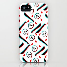 Pattern Jason Serial Killer, iPhone Case