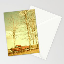 Pappy's farm truck. Stationery Cards