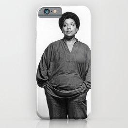 Audre Lorde - Black Culture - Black History iPhone Case