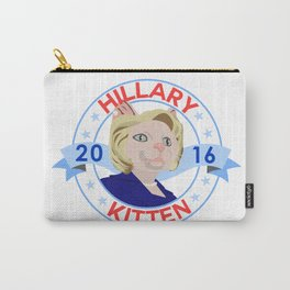 Hillary Kitten 2016 Carry-All Pouch