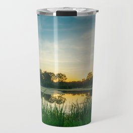 Lake Muhlenberg Sunset in September Travel Mug
