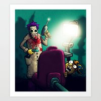 dentist Art Prints featuring Dentist by MaComiX
