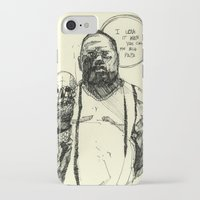notorious big iPhone & iPod Cases featuring Biggie Notorious by Maddison Bond