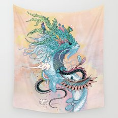 Journeying Spirit (ermine) Wall Tapestry