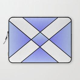 Saint andrew's cross 2- Laptop Sleeve