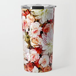 Floral Feature Travel Mug
