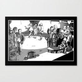 Valentine's Day Massacre Canvas Print