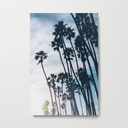 On the way to the Beach Metal Print