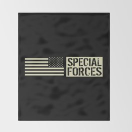 Special Forces (Black Flag) Throw Blanket