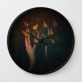 Not Here Wall Clock