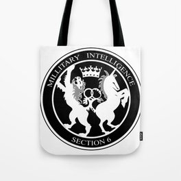 MI6 Logo (Millitary Intelligence Section 6) Tote Bag