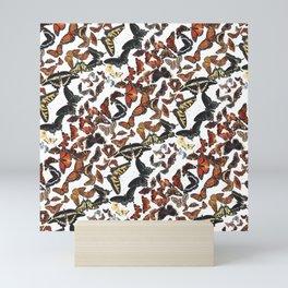 Butterflies of Maine Pattern Mini Art Print