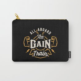 All Aboard The Gain Train Carry-All Pouch