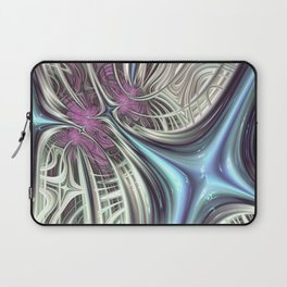 Cosmic Orchid - Fractal Art Laptop Sleeve