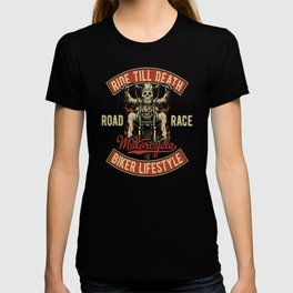 Skeleton Motorcycle T-shirt