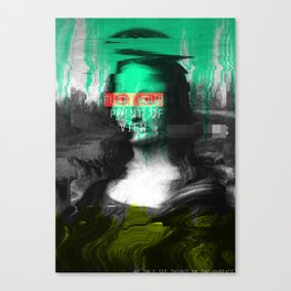 Fucking Point Of View Canvas Print