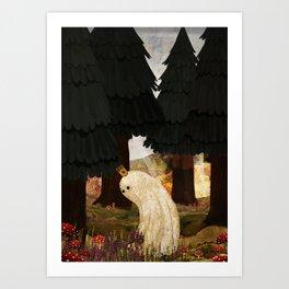 Mushroom King Art Print