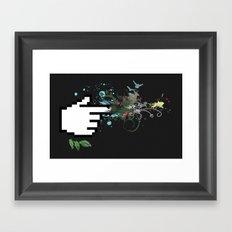 Clicksplosion Framed Art Print