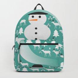 Winter scene Backpack