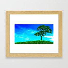 Quite High Framed Art Print