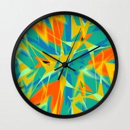 Spring Zing1 Wall Clock