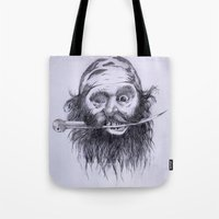 charlie Tote Bags featuring Charlie by Joe Cardoso
