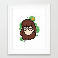 daria Framed Art Prints featuring Daria by ocamixn