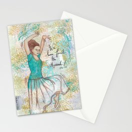 Messiah by patsy paterno Stationery Cards