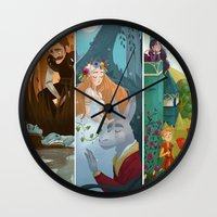 shakespeare Wall Clocks featuring Shakespeare by Supergna