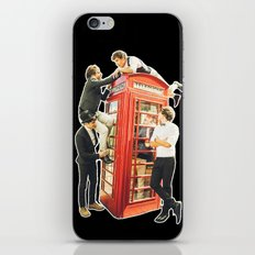 One Direction - Phone Booth iPhone & iPod Skin