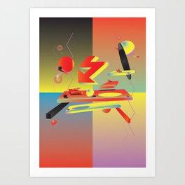 My Enemy Art Print