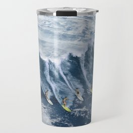 Surfing the Earth Travel Mug