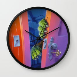 How to Kill a Monster Wall Clock