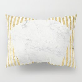 Inverse penta gold Pillow Sham