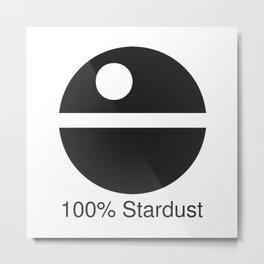 100% Stardust Metal Print