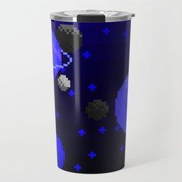 Spacey - Blue Travel Mug
