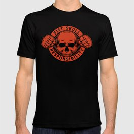 Black/Red Emblem T-shirt