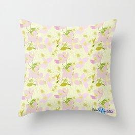 Wild Rose 66 Throw Pillow