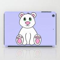 polar bear iPad Cases featuring Polar Bear by BlackBlizzard