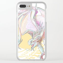 Princess Anemone Clear iPhone Case