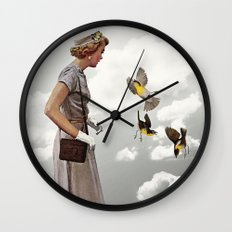 third beat Wall Clock