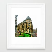 brussels Framed Art Prints featuring Brussels by haroulita