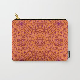Symmetry Orange Carry-All Pouch