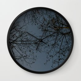huge trees Wall Clock